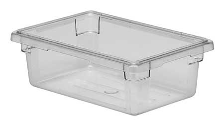 Food Box, Use Lid 4UKD3, H 6 In, PK6
