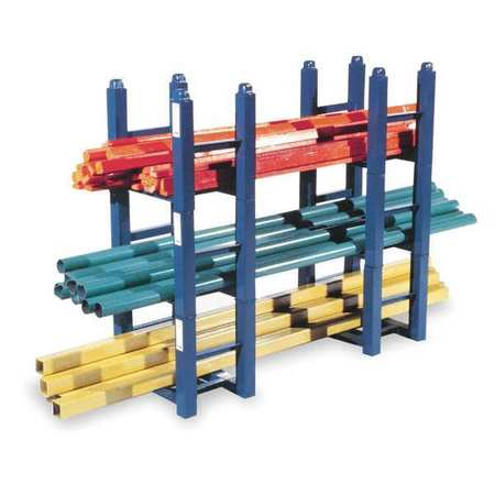 Modular Stacking Rack, 16x12 in., 2500 lb.