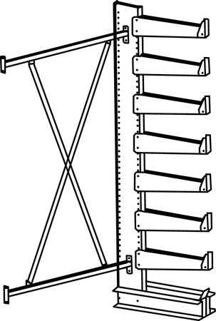 Cantilever Storage Racks And Components