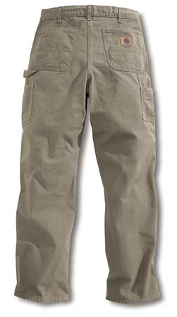Work Pants, Washed Desert, Size46x32 In