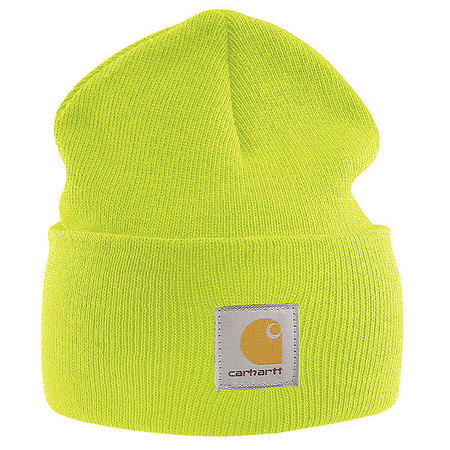 Knit Cap, Bright Lime, Universal