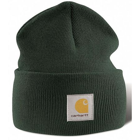 Knit Cap, Dark Green, Universal