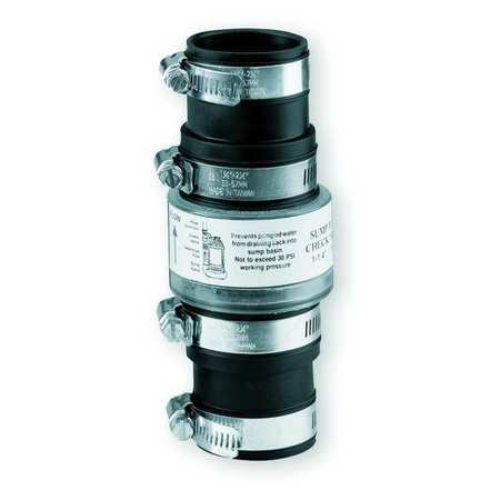 "1-1/4"" or 1-1/2"" Slip Union TPR Check Valve"