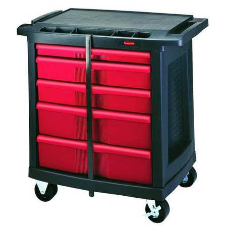 Trade Cart/Service Bench, 19-13/16 In. W