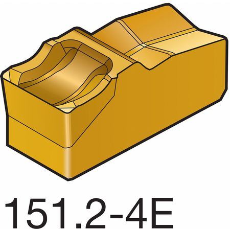 Carbide Part Insert, N151.2-400-4E 2135,  Min. Qty 10