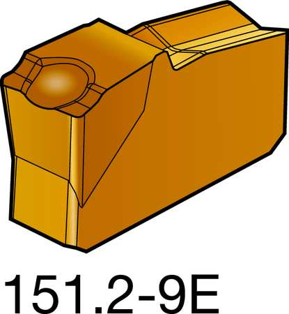 Carbide Part Insert, N151.2-400-9E 1125,  Min. Qty 10