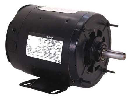 Motor, Split Ph, 3/4 HP, 1725, 115V, 56Z, Open