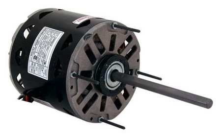 Motor, PSC, 1/2 HP, 1625 RPM, 115V, 48Y, OAO