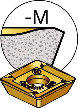 Milling Insert, R290-12T308M-KM 3220,  Min. Qty 10