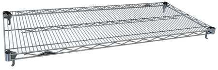 Wire Shelf, 72 W x 24 in. D, PK5