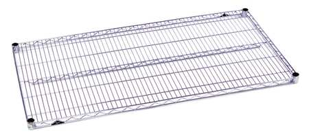 Wire Shelf, 1-1/8 H x 24 W x 48 in. D, PK5