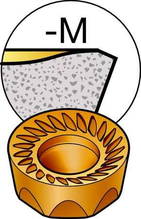 Milling Insert, RCKT 13 04 00-PM 1030