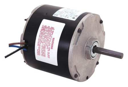 Motor, PSC, 1/5 HP, 1075 RPM, 230V, 48Y, Open