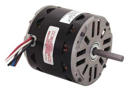 Motor, PSC, 1/2 HP, 1110 RPM, 115V, 48Y, OAO