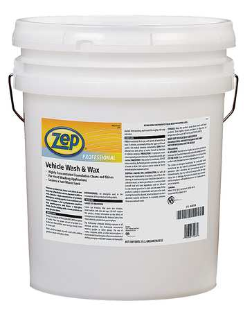 Vehicle Wash & Wax,  5 Gal