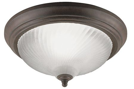 Light Fixture, Sienna, Frosted Swirl