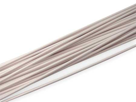Welding Rod, ABS, 5/32 In, White, PK32