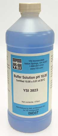 Buffer Solution, pH, 10.00, Pt, PK6