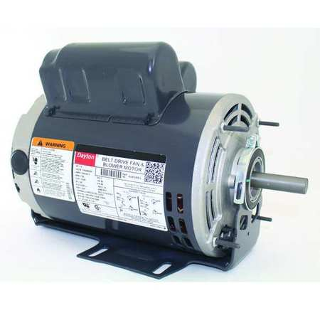 Mtr, Cap St/Run, 1 HP, 1725, 115/208-230V, 56