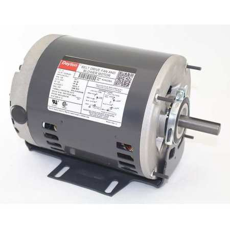 Motor, Sp Ph, 1/2 HP, 1725, 115/208-230V, 56