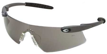 Condor Gray Safety Glasses,  Anti-Fog,  Scratch-Resistant,  Wraparound