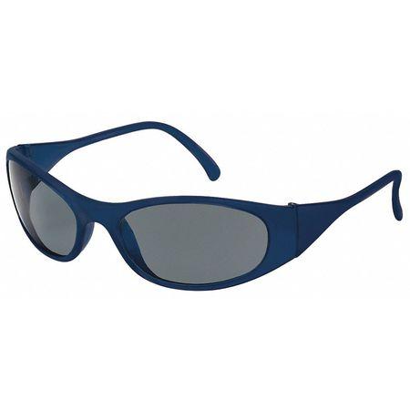 Condor Gray Safety Glasses,  Scratch-Resistant,  Wraparound