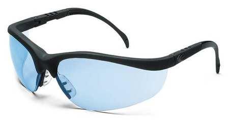 Condor Light Blue Safety Glasses,  Scratch-Resistant,  Wraparound