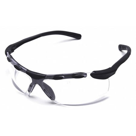 Condor Clear Safety Glasses,  Antifog,  Wraparound