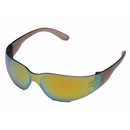 Condor Rainbow Mirror Safety Glasses,  Scratch-Resistant,  Wraparound