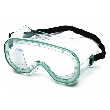 Condor Clear Chemical Splash Goggles,  Anti-Fog,  Scratch-Resistant
