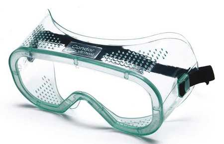 Condor Clear Impact Resistant Goggles,  Scratch-Resistant