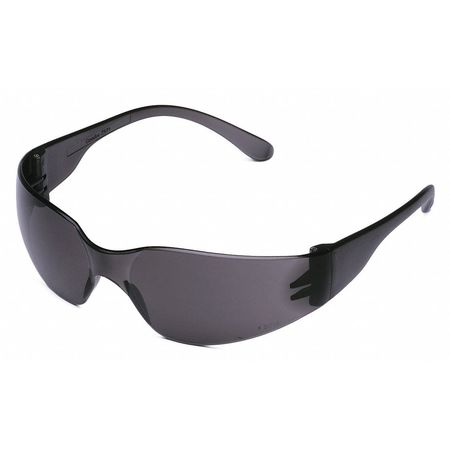 Condor Gray Safety Glasses,  Anti-Fog,  Wraparound
