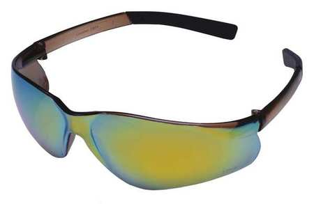 Condor Rainbow Mirror Safety Glasses,  Scratch-Resistant,  Wraparound