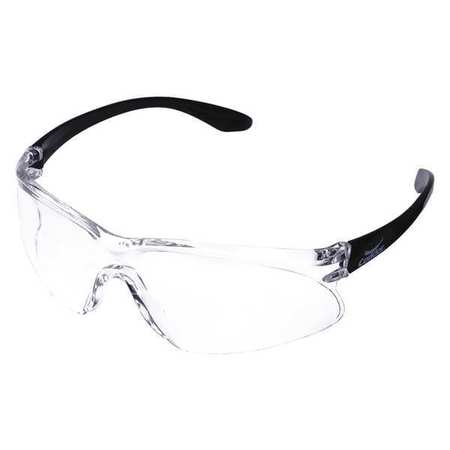 Condor Clear Safety Glasses,  Scratch-Resistant,  Wraparound