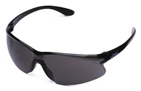 Condor Gray Safety Glasses,  Anti-Fog,  Wraparound