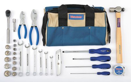 Master Tool Set, SAE, 31 Pc