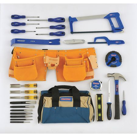 Contractors Tool Set, SAE, 28 Pc