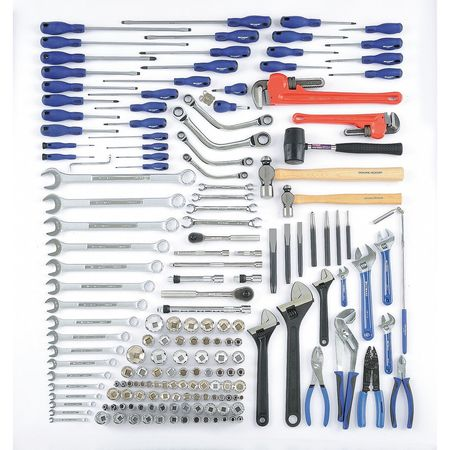 Railroad Roadway Mechanics Set, 176 Pc