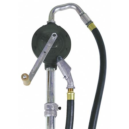 Hand Drum Pump, Cast Iron, 1-1/4In FNPT