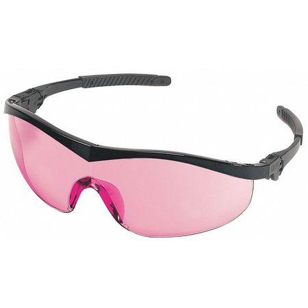 Condor Vermillion Safety Glasses,  Scratch-Resistant,  Wraparound
