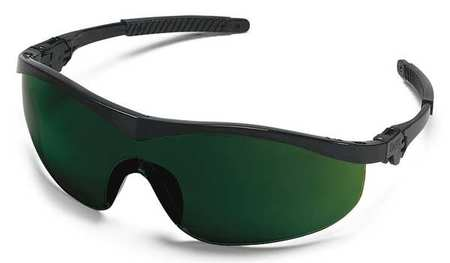 Condor Shade 5.0 Safety Glasses,  Scratch-Resistant,  Wraparound