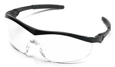 Condor Clear Safety Glasses,  Anti-Fog,  Scratch-Resistant,  Wraparound