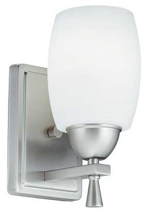 Light Fixture, 13W, 120V, Brushed Nickel