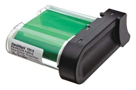 Ribbon Cartridge, Green, 2 In. W, 75 ft. L