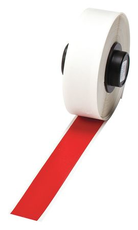 Tape, Red, 1/2 In. W, 50 ft. L