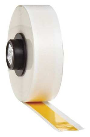 Tape, Yellow, 50 ft. L, 1/2 In. W