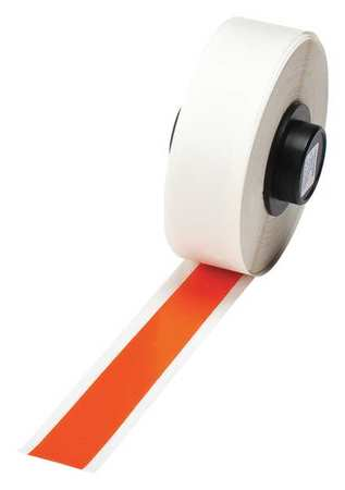 Tape, Orange, 50 ft. L, 1/2 In. W
