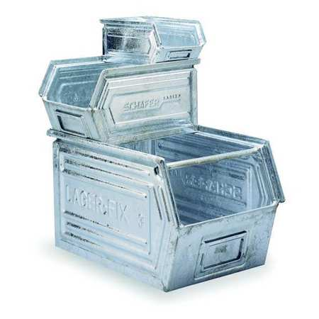 Stacking Galvanized Steel Containers