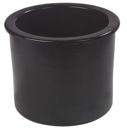 Ice Cream Server w/ Lid,  12 qt.,  ABS Plastic Black