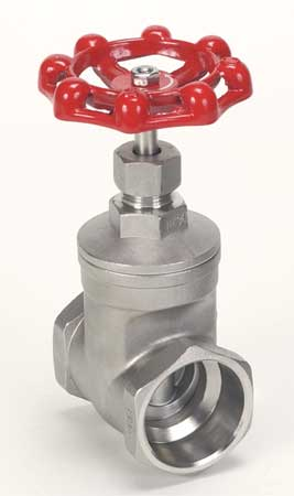 Gate Valve, Class 200, 1 In, 316 SS